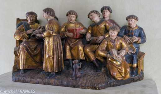 Musée Cluny moyen-âge - Scène de classe