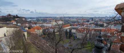Chateau de Prague - vue sur la ville