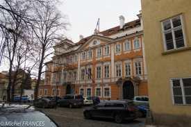 Le Palais Buquoy, ambassade de France