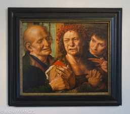 Palais Sternberg - Galerie nationale - Jan Sanders van Hernessen - Mariée en larmes - 1540 (?)