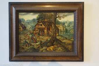 Palais Sternberg - Galerie nationale Hans Bol - scène de village