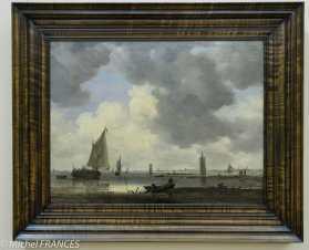 Palais Sternberg - Galerie nationale - Jan Josef van Goyen - Tours de guet dans un estuaire - 1646