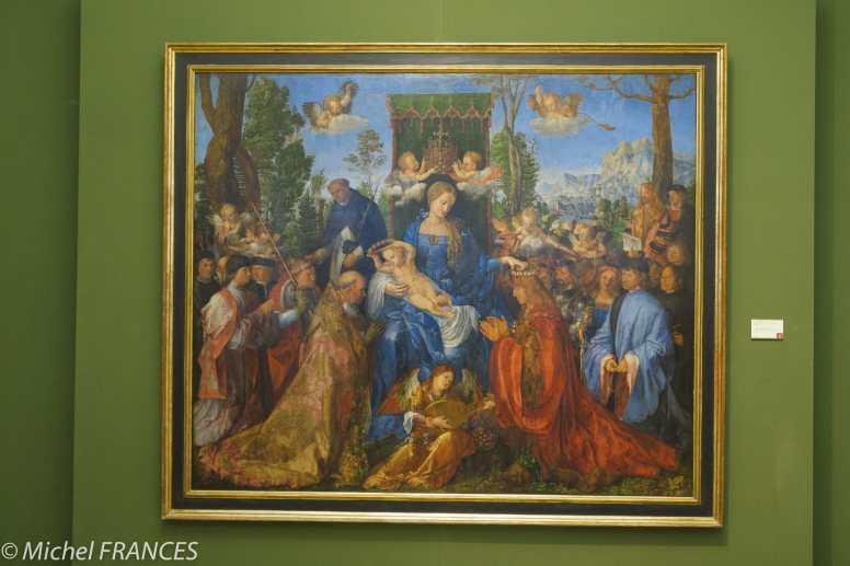 Palais Sternberg - Galerie nationale - Albrecht Dürer - La fêt du Rosaire - 1506