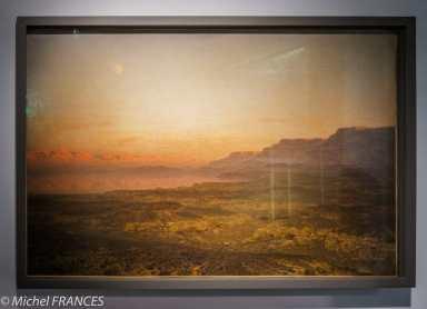 Musée du quai Branly - Peintures des lointains - Léon Belly - La Mer morte - 1866
