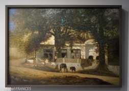 Musée du quai Branly - Peintures des lointains - Germain Fabius Brest - Café maure à Alger - vers 1860