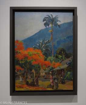 Musée du quai Branly - Peintures des lointains - Jean Baldoui - Le flamboyant, Martinique - 1930