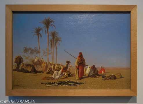 Musée du quai Branly - Peintures des lointains - Théodore Frère - Halte de la caravane - 1850-1870