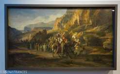Musée du quai Branly - Peintures des lointains - Jean Joseph Bellel - Caravane dans les montagnes - 2ème moitié du 19ème siècle
