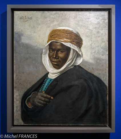 Musée du quai Branly - Peintures des lointains - Alfred de Deken - Chef sénégalais - Début 20ème siècle