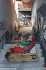 Street-art au Lavomatik- Zag & Sia - El loco, c'est le maire du 13ème Jérôme Coumet