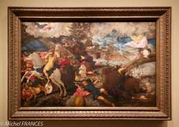 Musée du Luxembourg - Tintoret, naissance d'un génie - La conversion de saint Paul - 1538-1539