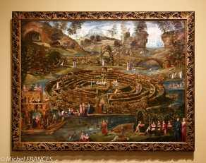 Musée du Luxembourg - Tintoret, naissance d'un génie - Labyrinthe de l'amour - commencé en 1538 poursuivi vers 1552