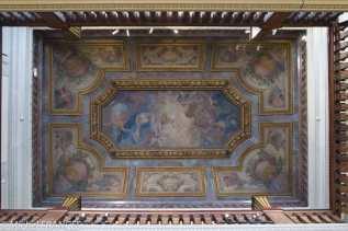 Musée Jacquemart-André - Le plafond du salon de musique décoré par Pierre-Victor Galland