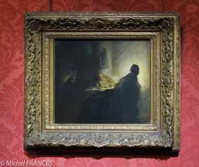 Musée Jacquemart-André - Rembrandt - Les pélerins d'Emmaüs - vers 1628