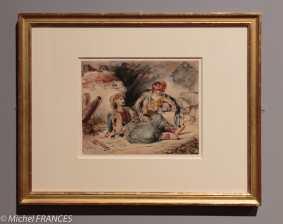 exposition Eugène Delacroix - Épisode des guerres entre les Turcs et les Grecs