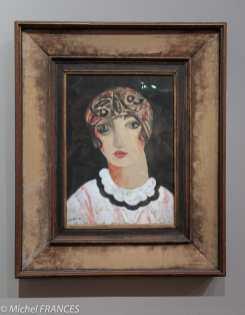 Musée Maillol - Exposition Foujita - Moïse Kisling -Portrait de Kikou - 1924