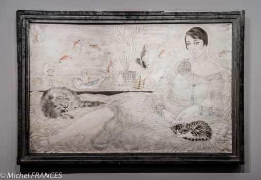 Musée Maillol - Exposition Foujita - Portrait de Madame Hélène Berthelot - 1927