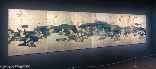 Musée Maillol - Exposition Foujita - décor pour la Maison du Japon