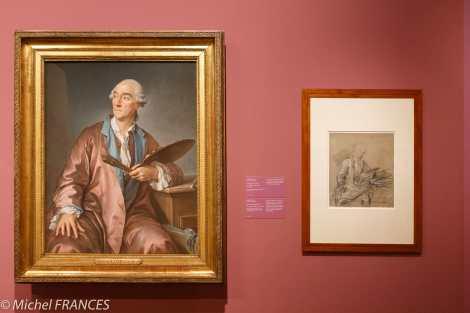 expo Pastels - Alexis III Loir - Le peintre CLément Louuis Marie Anne belle