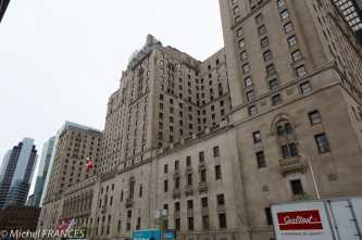 Toronto - Le Fairmont Royal York Hôtel face à la gare