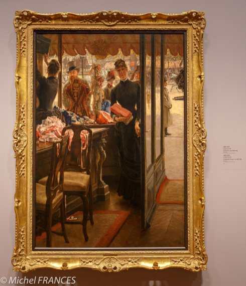 Toronto - AGO arts gallery of Ontario - James Tissot - La demoiselle de magasin