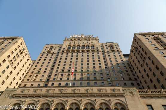 Toronto - Le Fairmont Royal York sous le soleil
