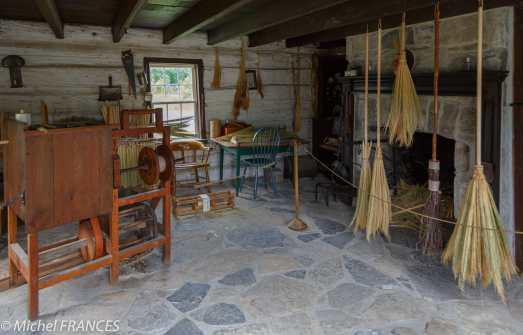 Upper Canada Village - l'atelier de fabrication de balais