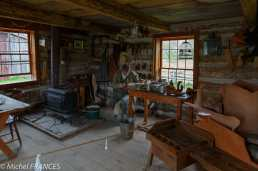 Upper Canada Village - l'atelier du shoe-maker