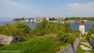 Vue sur Kingston depuis le fort Henry
