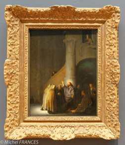 musée des beaux-arts d'Ottawa - Rembrandt van Rijn - Le denier de César - 1629