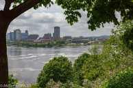 Ottawa - Gatineau, Québec, sur l'autre rive de la rivière des Outaouais