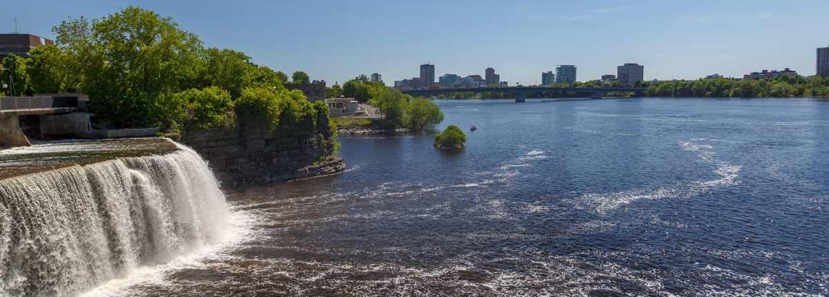 Ontario Québec – Les chutes Rideau