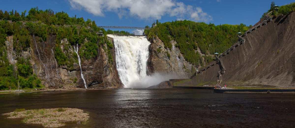 Ontario Québec – Les chutes de Montmorency