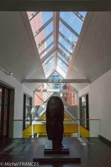 musée des beaux-arts de Montréal - entrée vers le pavillon de l'art international