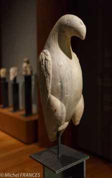 musée des beaux-arts de Montréal - Italie méridionnale - 12ème siècle - Aigle en marbre