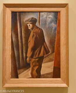 musée des beaux-arts de Montréal - Bertram Brooker - Solitaire - 1939