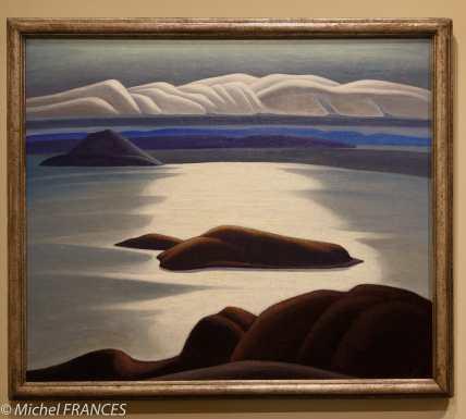 musée des beaux-arts de Montréal - Lawren S. Harris - Matin, lac Supérieur - vers 1921-1928