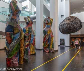musée des beaux-arts de Montréal - vers la sortie du pavillon