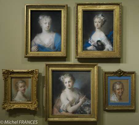 expo Pastels - Rosalba Carriera