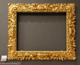 expo sur les cadres - Le reniement de saint Pierre - le cadre original (Florence ?)
