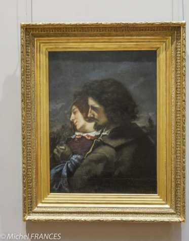 musée des beaux-arts de Lyon - Gustave Courbet - Les amants heureux - 1844