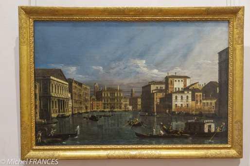 musée des beaux-arts de Lyon - Bernard Bellotto - Le grand canal à Venise, vers 1740