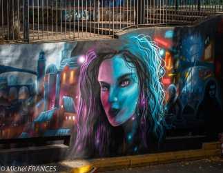 Street art près du Cours Julien