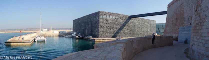 Le nouveau bâtiment du MUCEM