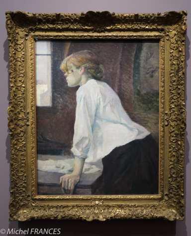 Henri de Toulouse-Lautrec - La blanchisseuse - vers 1886-1887
