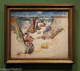 Henri Matisse - Côte sauvage, Belle-Île-en-Mer - 1896