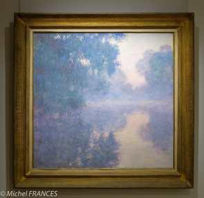 Marmottan Monet - Claude Monet - Bras de Seine près de Giverny, soleil levant- 1897