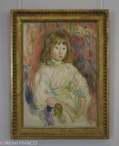 Marmottan Monet - Berthe Morisot - La petite Marcelle - 1895