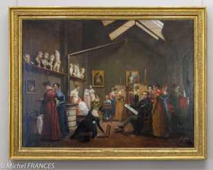 Marmottan Monet - Adrienne Grandpierre-Deverzy - L'atelier d'Abel de Pujol - 1832