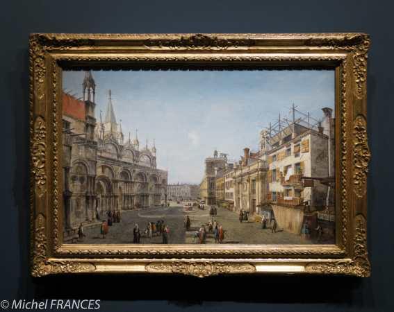 expo Éblouissante Venise - Michele Marieschi -La piazzetta di San Basso - vers 1736-1737